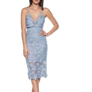 Bardot Vienna Lace Overlay Dress